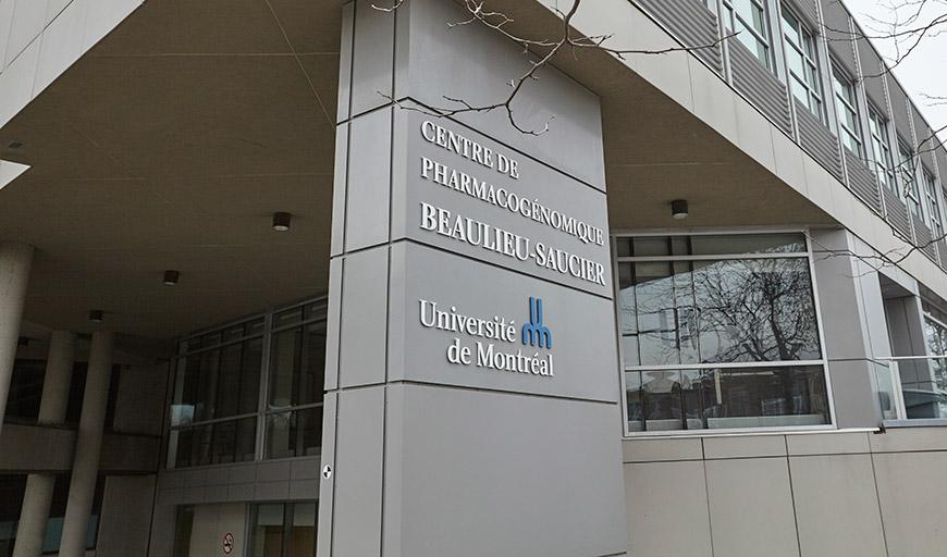 Centre de Pharmacogénomique Beaulieu-Saucier Université de Montréal